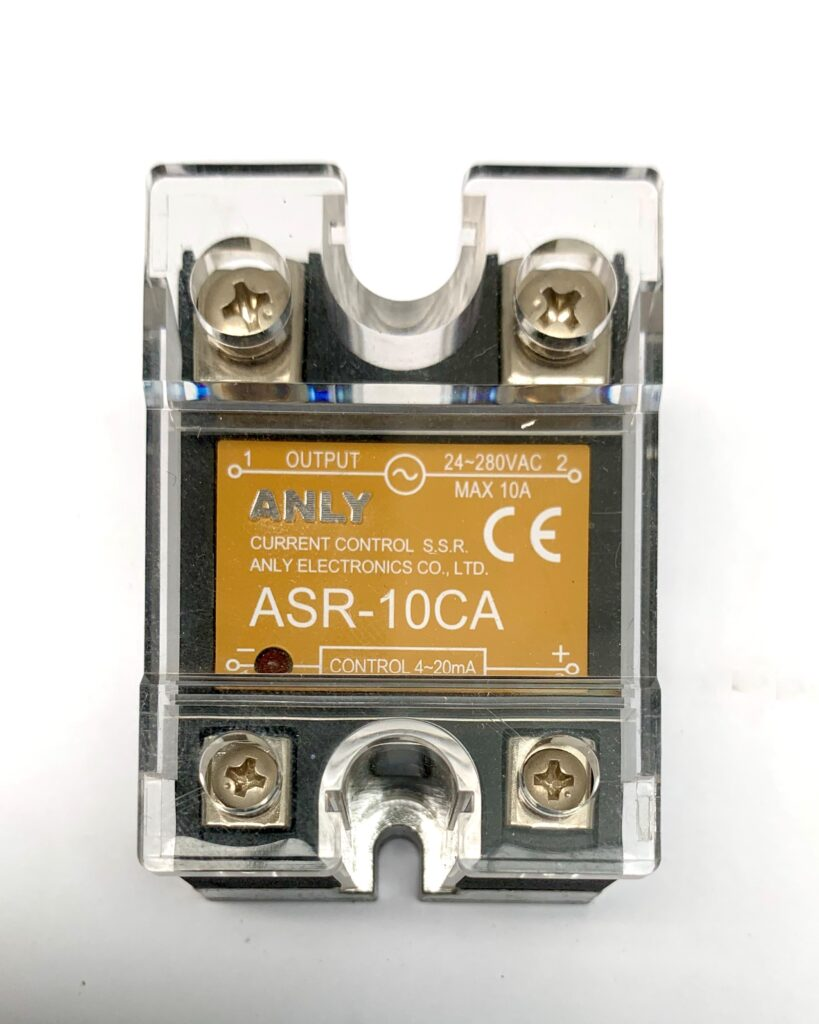 Solid state relais Anly ASR-..CA